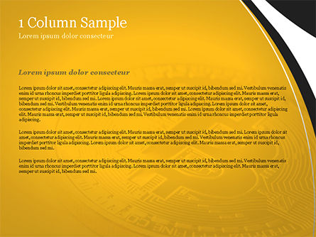 Bitcoin Coin PowerPoint Template, Slide 4, 15164, Technology and Science — PoweredTemplate.com