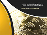 Technology and Science: Bitcoin Coin PowerPoint Template #15164