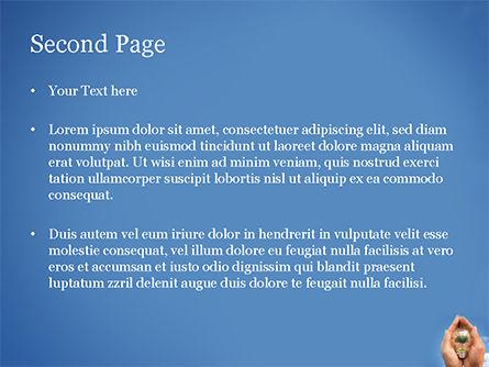 Light Bulb with Tree Inside PowerPoint Template, Slide 2, 15165, Nature & Environment — PoweredTemplate.com
