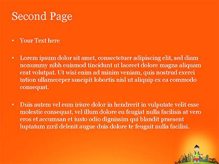 Traveler PowerPoint Template, Slide 2, 15168, Health and Recreation — PoweredTemplate.com