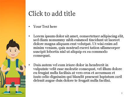 Traveler PowerPoint Template, Slide 3, 15168, Health and Recreation — PoweredTemplate.com