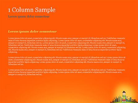 Traveler PowerPoint Template, Slide 4, 15168, Health and Recreation — PoweredTemplate.com