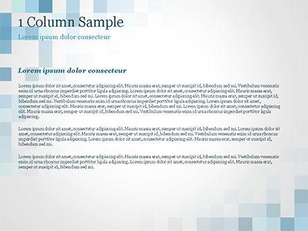Abstract Blue Pixels PowerPoint Template, Slide 4, 15169, Abstract/Textures — PoweredTemplate.com