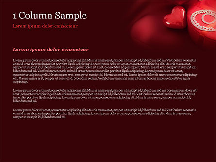 Marzipan Heart PowerPoint Template, Slide 4, 15176, Holiday/Special Occasion — PoweredTemplate.com