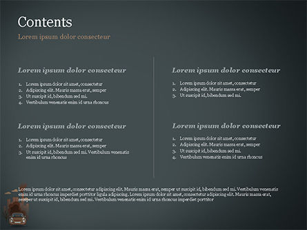 Automobile and Industrial Pollution PowerPoint Template, Slide 2, 15178, Nature & Environment — PoweredTemplate.com