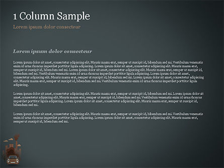 Automobile and Industrial Pollution PowerPoint Template, Slide 4, 15178, Nature & Environment — PoweredTemplate.com