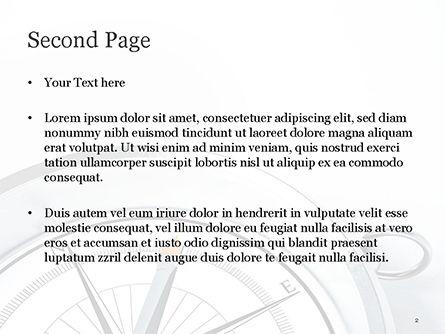 Guidance Concept PowerPoint Template, Slide 2, 15179, Business Concepts — PoweredTemplate.com