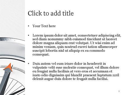 Guidance Concept PowerPoint Template, Slide 3, 15179, Business Concepts — PoweredTemplate.com