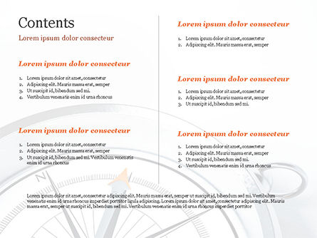 Guidance Concept PowerPoint Template, Slide 2, 15179, Business Concepts — PoweredTemplate.com