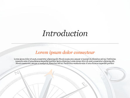 Guidance Concept PowerPoint Template, Slide 3, 15179, Business Concepts — PoweredTemplate.com