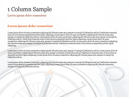 Guidance Concept PowerPoint Template, Slide 4, 15179, Business Concepts — PoweredTemplate.com