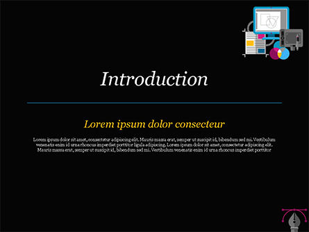 Publishing and Printing Design PowerPoint Template, Slide 3, 15181, Careers/Industry — PoweredTemplate.com