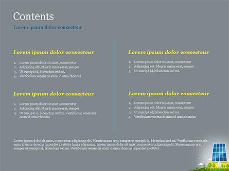 Solar Energy PowerPoint Template, Slide 2, 15182, Nature & Environment — PoweredTemplate.com
