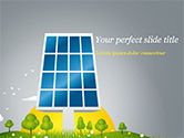 Nature & Environment: Solar Energy PowerPoint Template #15182