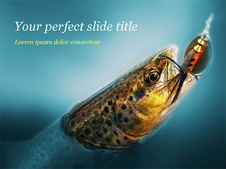 Sports: Pike Fishing PowerPoint Template #15184
