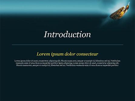 Pike Fishing PowerPoint Template, Slide 3, 15184, Sports — PoweredTemplate.com