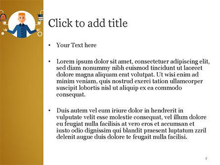 Self Education PowerPoint Template, Slide 3, 15191, Education & Training — PoweredTemplate.com