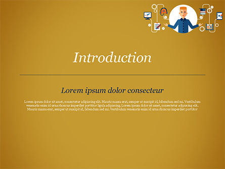 Self Education PowerPoint Template, Slide 3, 15191, Education & Training — PoweredTemplate.com