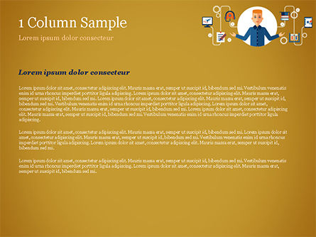 Self Education PowerPoint Template, Slide 4, 15191, Education & Training — PoweredTemplate.com