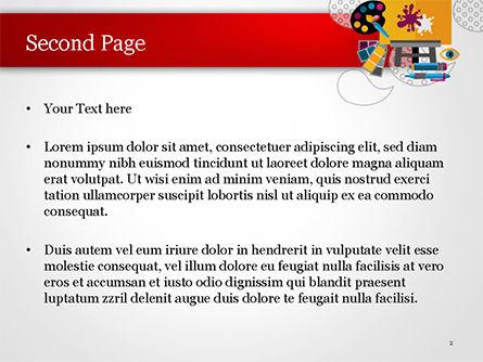 Creativity PowerPoint Template, Slide 2, 15193, Art & Entertainment — PoweredTemplate.com