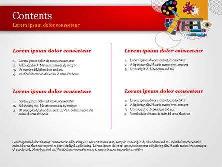 Creativity PowerPoint Template, Slide 2, 15193, Art & Entertainment — PoweredTemplate.com