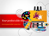 Art & Entertainment: Creativity PowerPoint Template #15193