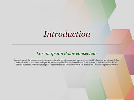 Abstract Colorful Columns PowerPoint Template, Slide 3, 15196, Abstract/Textures — PoweredTemplate.com