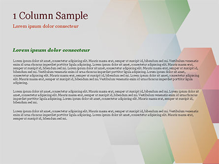 Abstract Colorful Columns PowerPoint Template, Slide 4, 15196, Abstract/Textures — PoweredTemplate.com