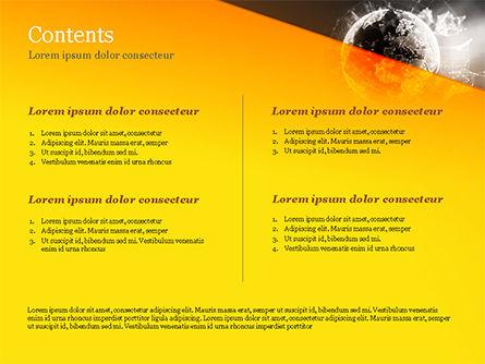 Dark Digital Globe PowerPoint Template, Slide 2, 15197, Technology and Science — PoweredTemplate.com