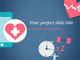 Medical: Health Applications PowerPoint Template #15205