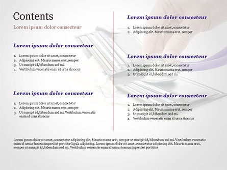 Financial Health PowerPoint Template, Slide 2, 15210, Financial/Accounting — PoweredTemplate.com