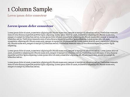 Financial Health PowerPoint Template, Slide 4, 15210, Financial/Accounting — PoweredTemplate.com