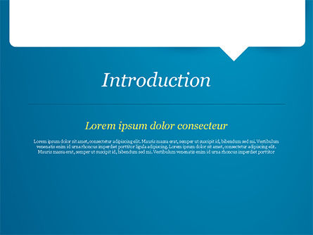 Message Icon PowerPoint Template, Slide 3, 15211, 3D — PoweredTemplate.com