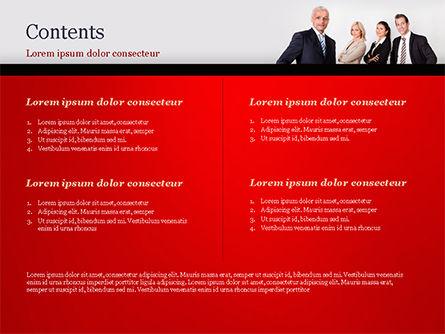 Business Team PowerPoint Template, Slide 2, 15212, People — PoweredTemplate.com