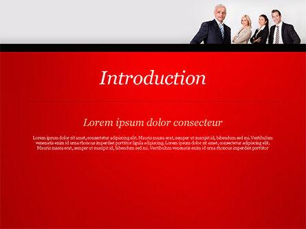 Business Team PowerPoint Template, Slide 3, 15212, People — PoweredTemplate.com