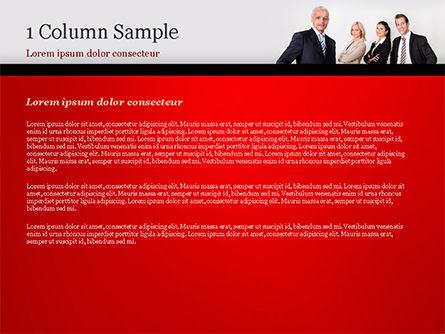 Business Team PowerPoint Template, Slide 4, 15212, People — PoweredTemplate.com