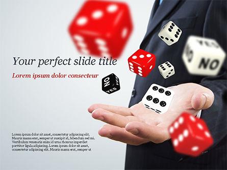 Business Concepts: 赌博的概念PowerPoint模板 #15215