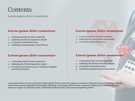 Gambling Concept PowerPoint Template, Slide 2, 15215, Business Concepts — PoweredTemplate.com