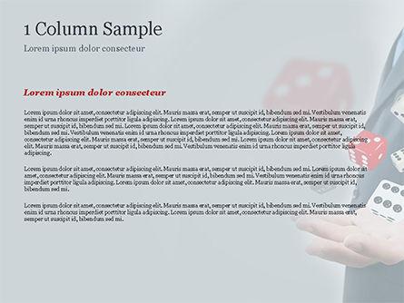 Gambling Concept PowerPoint Template, Slide 4, 15215, Business Concepts — PoweredTemplate.com