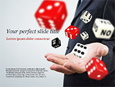 Business Concepts: Gambling Concept PowerPoint Template #15215