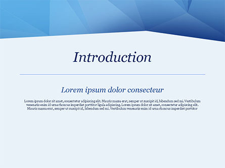 Triangular Polygon Style PowerPoint Template, Slide 3, 15219, Abstract/Textures — PoweredTemplate.com