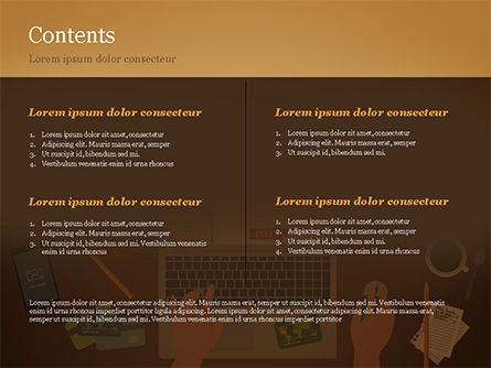 Online Shopping Illustration PowerPoint Template, Slide 2, 15227, Business Concepts — PoweredTemplate.com