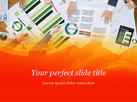 Business Concepts: Analytics Research PowerPoint Template #15233