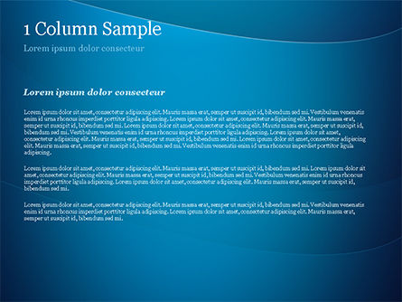Blue Serenity PowerPoint Template, Slide 4, 15234, Abstract/Textures — PoweredTemplate.com