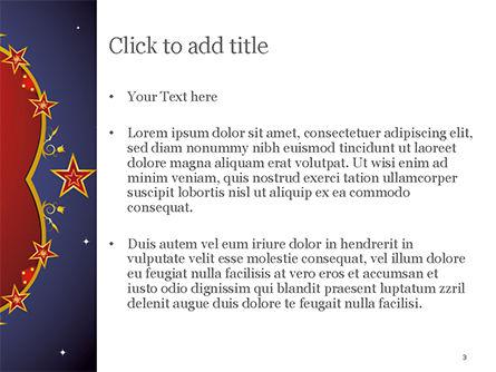 Magic Background PowerPoint Template, Slide 3, 15237, Abstract/Textures — PoweredTemplate.com