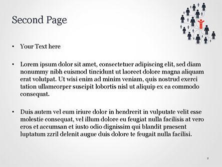 Network Marketing PowerPoint Template, Slide 2, 15238, Business Concepts — PoweredTemplate.com
