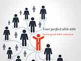 Business Concepts: Network Marketing PowerPoint Template #15238