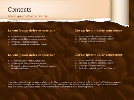 Blurry Coffee Beans PowerPoint Template, Slide 2, 15239, Food & Beverage — PoweredTemplate.com