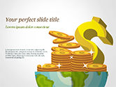 Business Concepts: Global Economy PowerPoint Template #15244