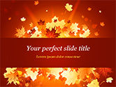 Nature & Environment: Bright Sunny Autumn PowerPoint Template #15247